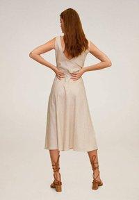 Mango - TEMPOLI - Day dress - beżowy - 1