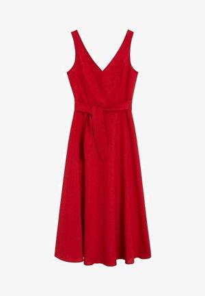 TEMPOLI - Day dress - czerwony