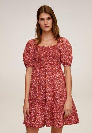 CHENAI - Day dress - erdbeerrot