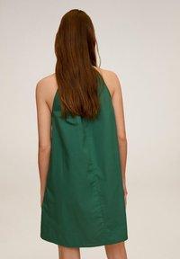 Mango - MIREIA - Day dress - dunkelgrün - 2