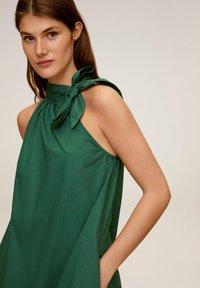 Mango - MIREIA - Day dress - dunkelgrün - 3