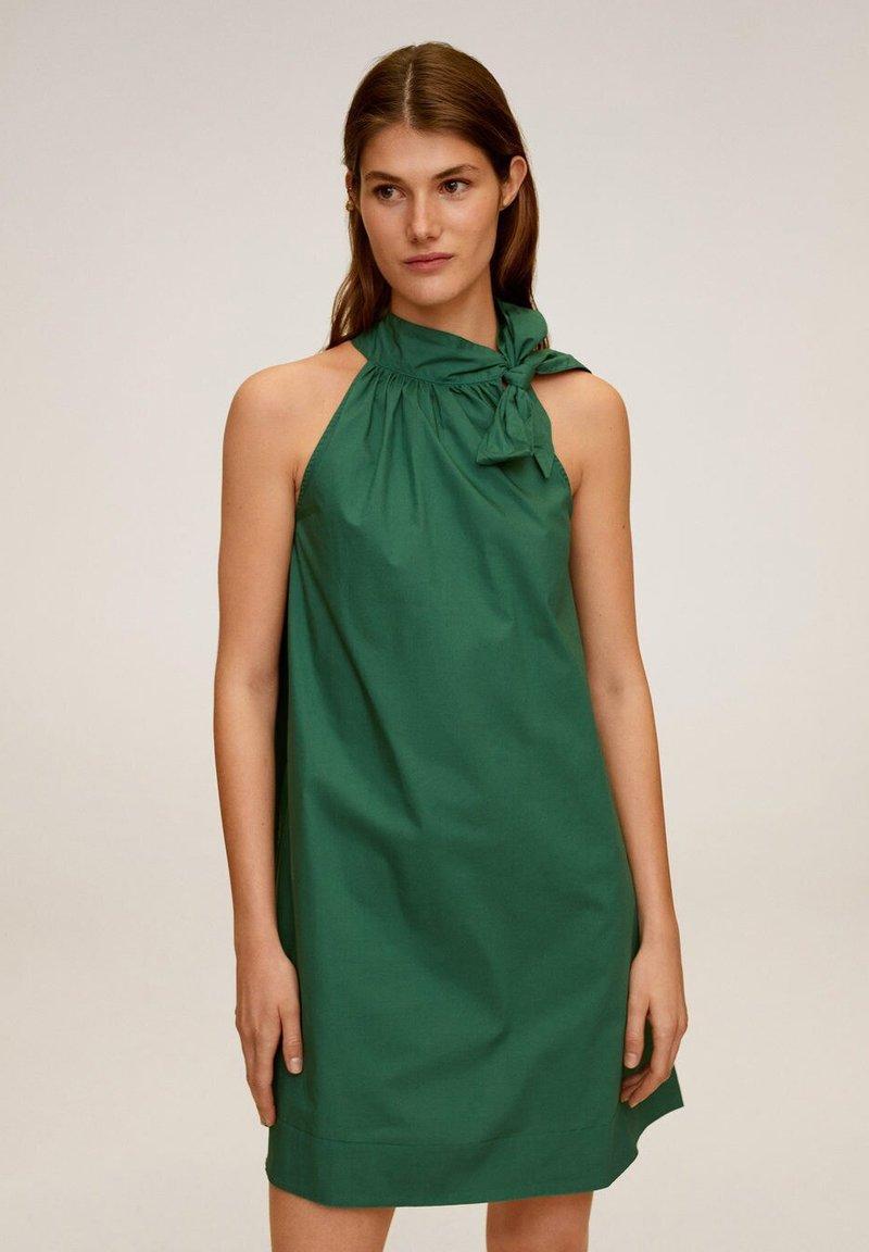 Mango - MIREIA - Day dress - dunkelgrün