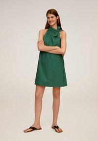 Mango - MIREIA - Day dress - dunkelgrün - 1
