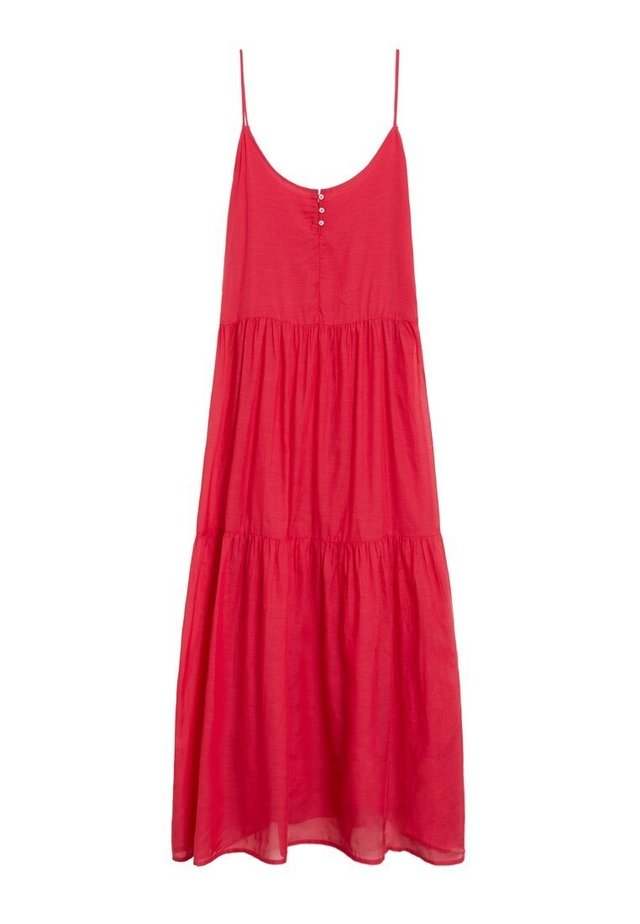 SOLI - Korte jurk - fuchsia