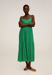 Mango - SOLI - Vestido informal - grün - 0
