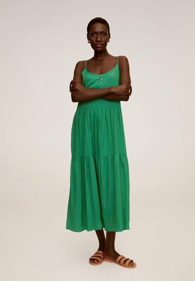 SOLI - Korte jurk - grün