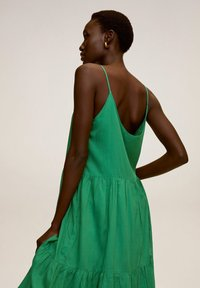 Mango - SOLI - Vestido informal - grün - 3