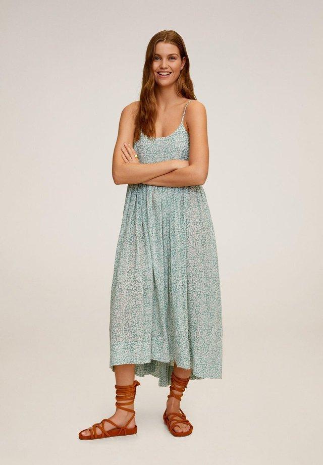 ORANGE - Korte jurk - wassergrün