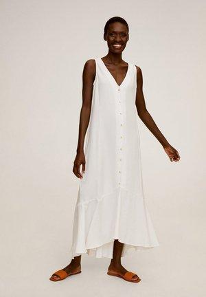 MILOS - Maxi-jurk - cremeweiß