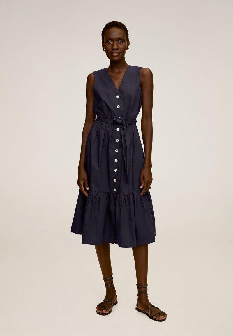 Mango - CRIS - Vestido informal - dunkles marineblau