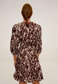 Mango - TROPIC - Day dress - schokolade - 2