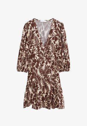 TROPIC - Day dress - schokolade