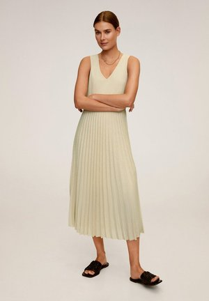 VERDI - Vestido largo - sandfarben