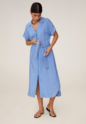 DOLS - Sukienka koszulowa - marineblau