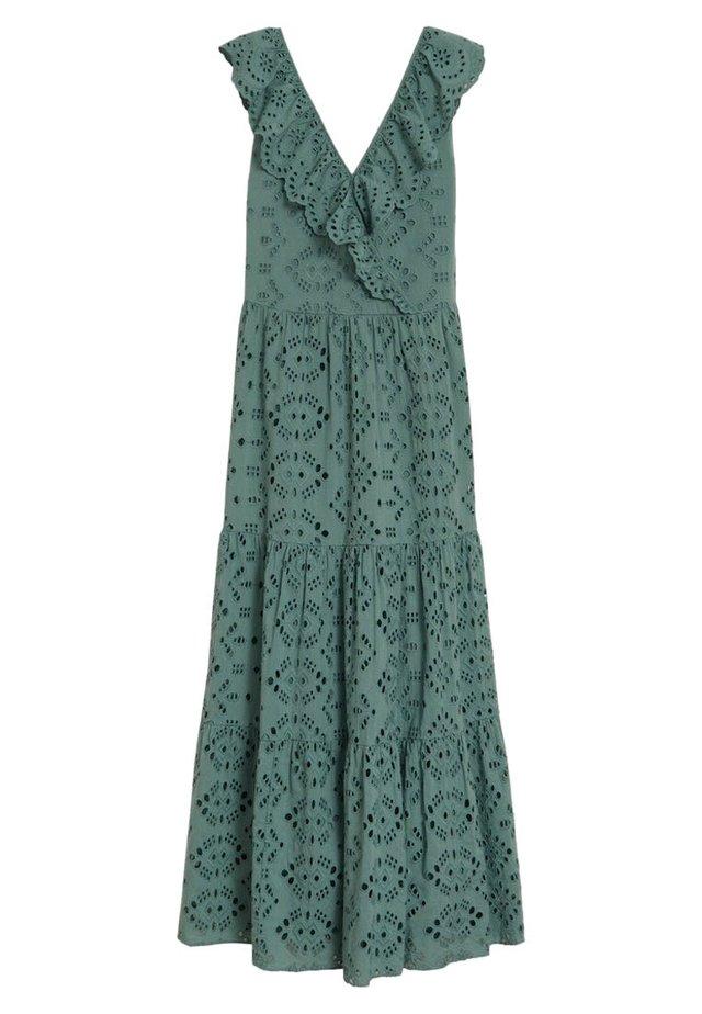 TEO - Długa sukienka - wassergrün
