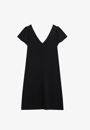 FRILLS - Day dress - noir