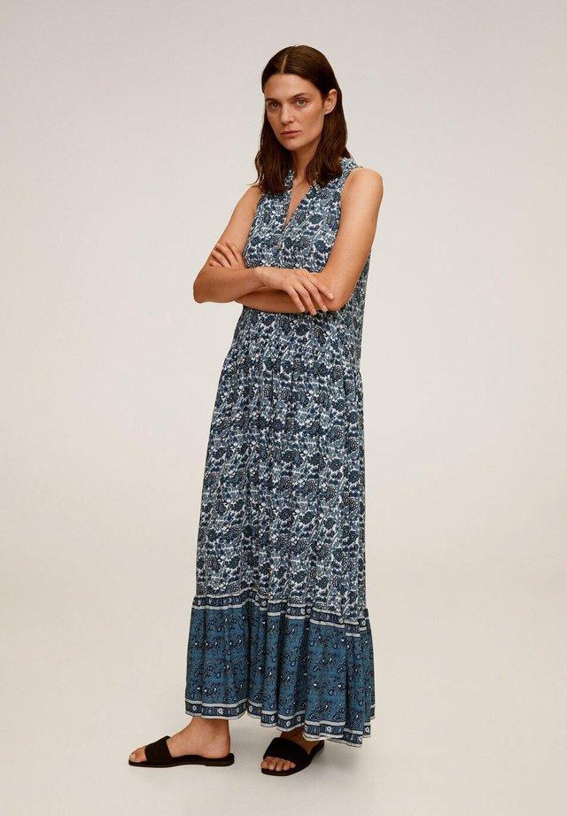 DOHA - Vestido largo - blau