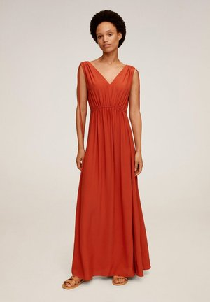 KLEMENT - Robe longue - orange