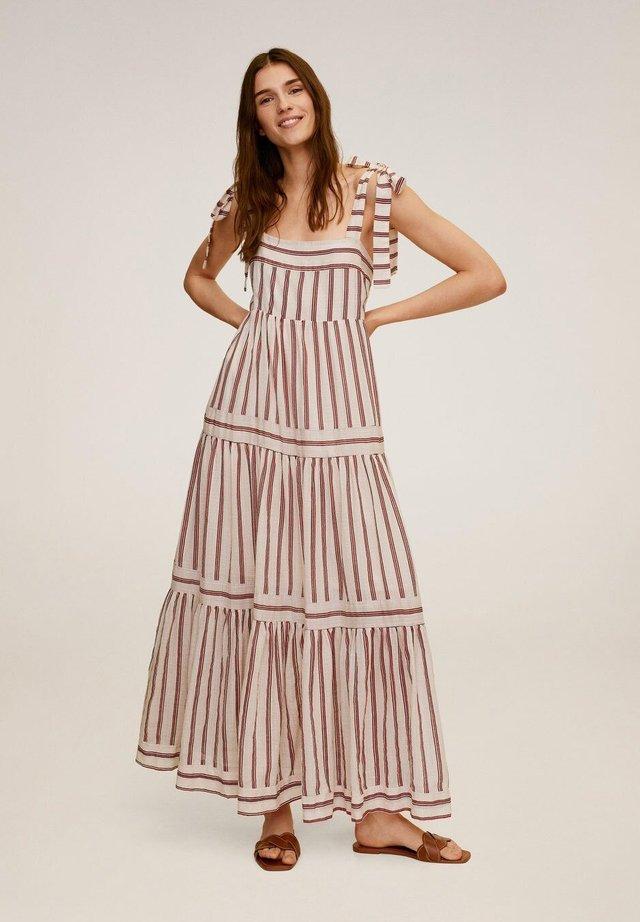 INDI - Vestido largo - cremeweiß