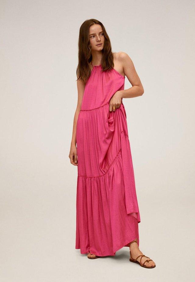 LUSITA - Długa sukienka - fuchsia