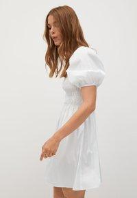 Mango - BEATRIZ - Korte jurk - blanc cassé - 3