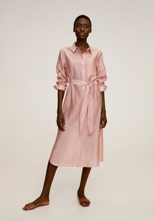 ALEX - Shirt dress - rose clair