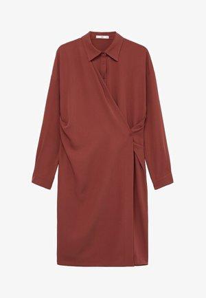 ARES-I - Robe chemise - bräunliches orange