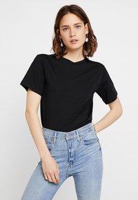 Mango - CAMISETA FRUITY - T-Shirt basic - black - 0