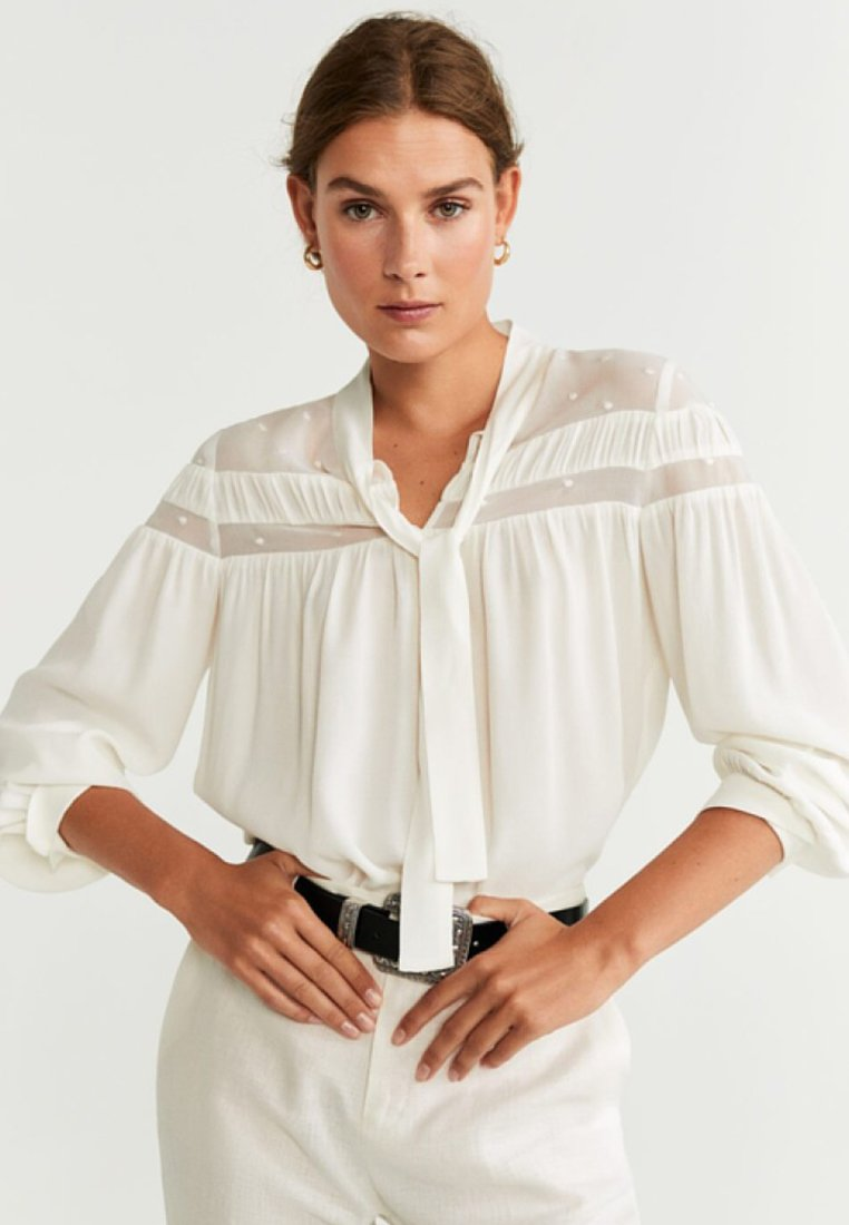 Mango - BRERA - Blouse - off-white