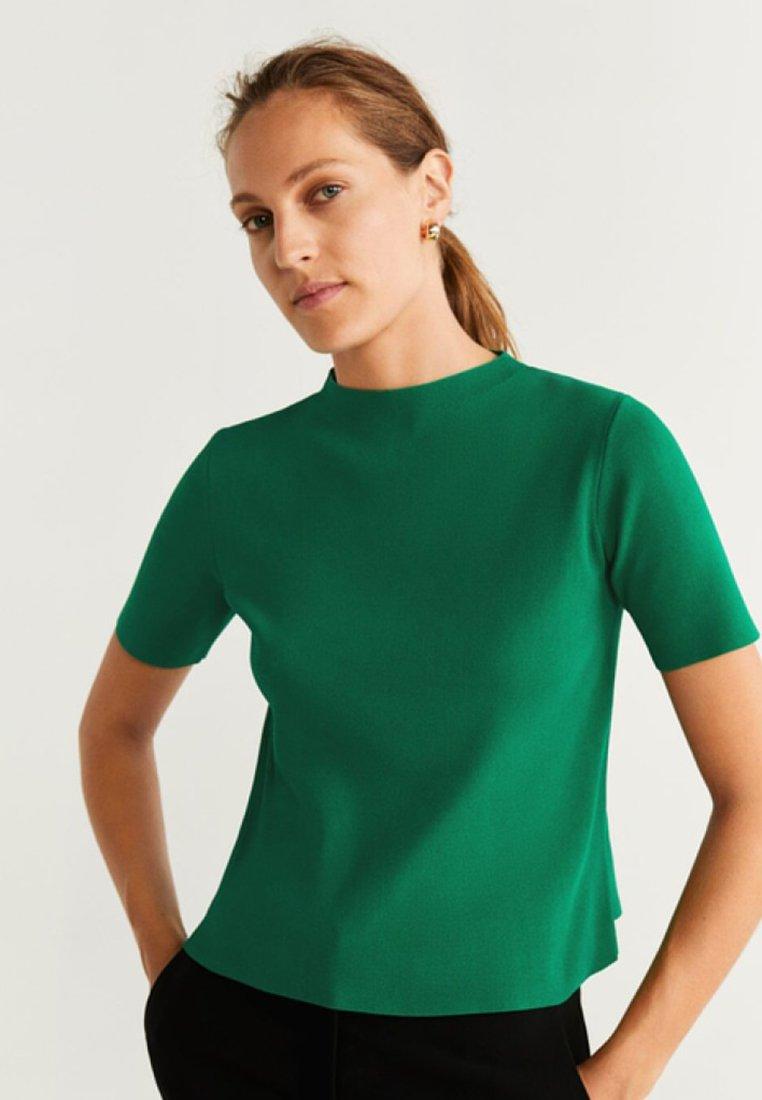 Mango - TWIGGY - T-shirt basic - green