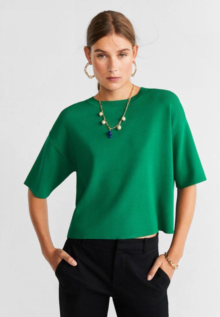 Mango - FROGGY - Print T-shirt - billard green