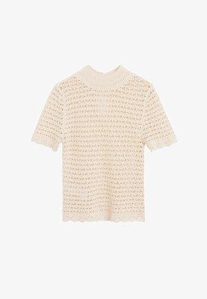PIAF - T-shirt con stampa - ecru