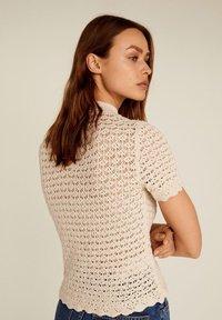 Mango - PIAF - T-Shirt print - ecru - 2