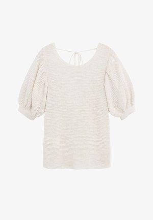 SEED - Print T-shirt - ecru
