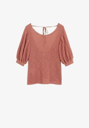 SEED - T-shirt con stampa - korallrot