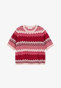 Mango - CHEVRY - T-Shirt print - rouge - 3