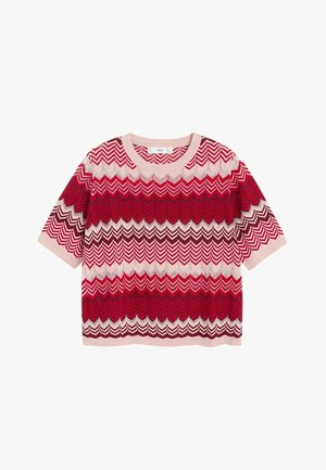 CHEVRY - T-Shirt print - rouge