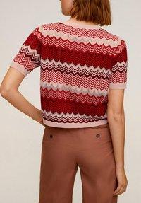 Mango - CHEVRY - T-Shirt print - rouge - 2