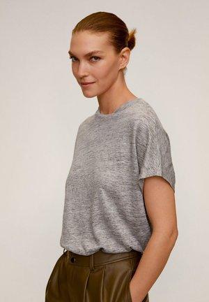 LINIPERK - T-shirt basic - grigio medio vigoré
