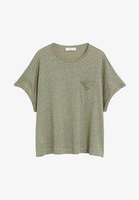 Mango - LICROP - T-shirt basic - bosgroen - 6