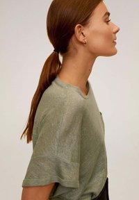 Mango - LICROP - T-shirt basic - bosgroen - 5