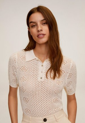 DAMA - Polo shirt - écru