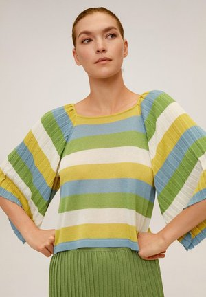 MENTOSR - T-Shirt print - porzellanblau