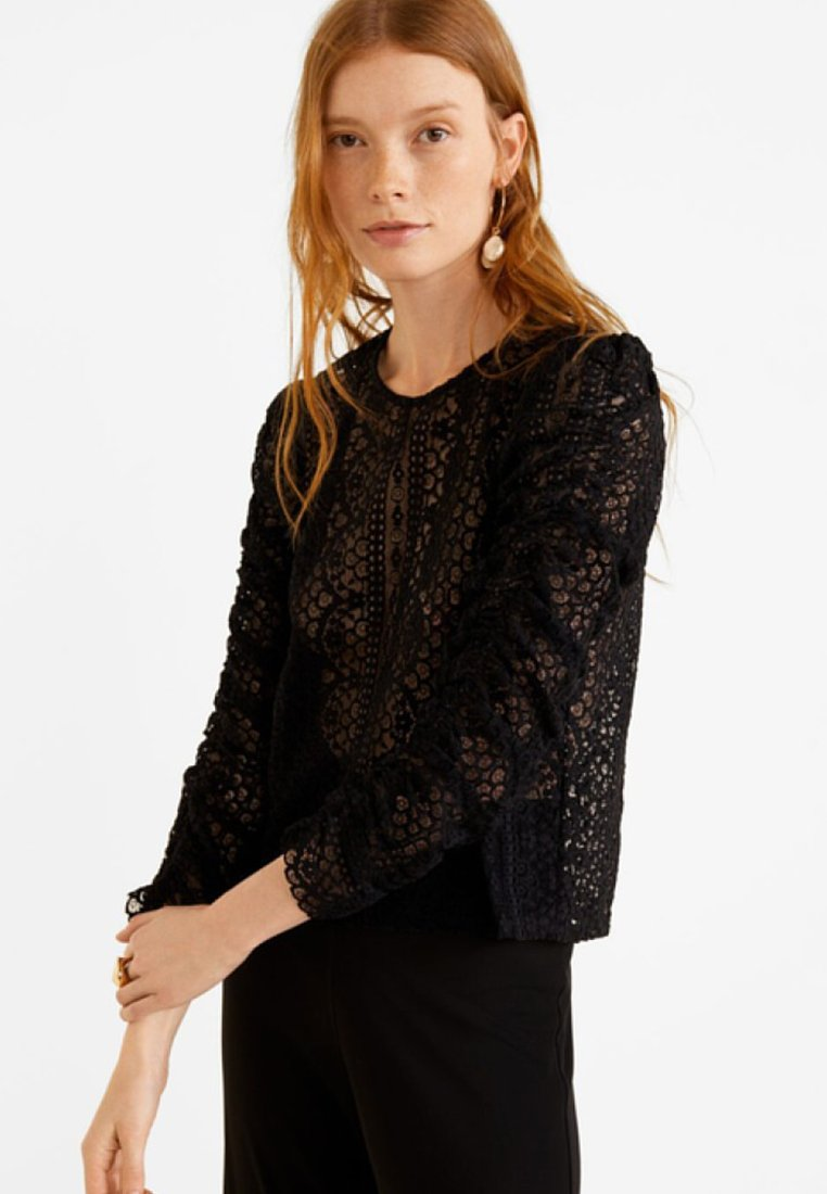 Mango - REINA - Blouse - black