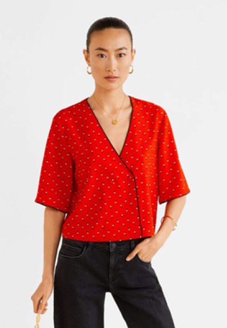 Mango - IRIS - Blouse - red