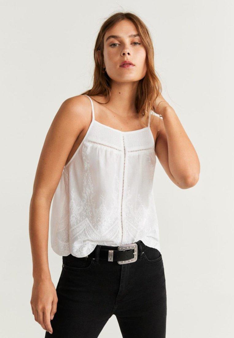 Mango - THAI - Bluse - off-white