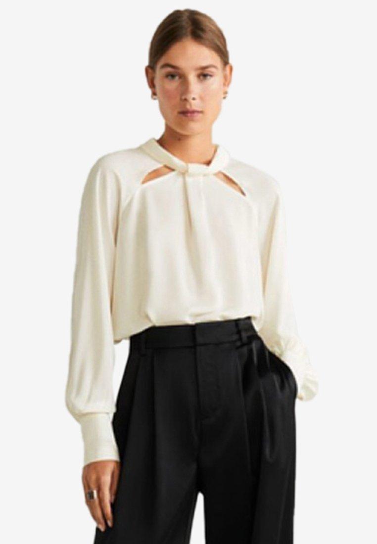 Mango - BARNA - Bluse - off-white