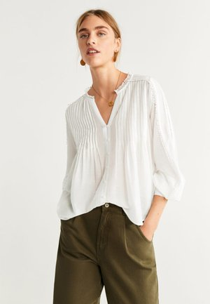 LANKA - Button-down blouse - ecru
