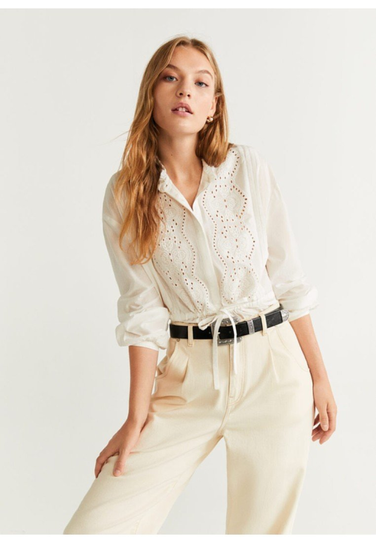 Mango - CAYENA - Bluse - off-white
