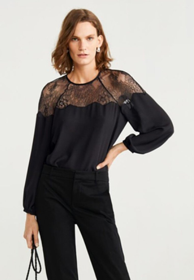 Mango - RAMET - Blouse - black